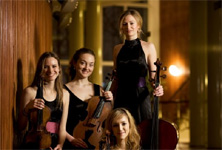 Tirsdag d. 27 September NIGHTINGALE STRING QUARTET &nbsp